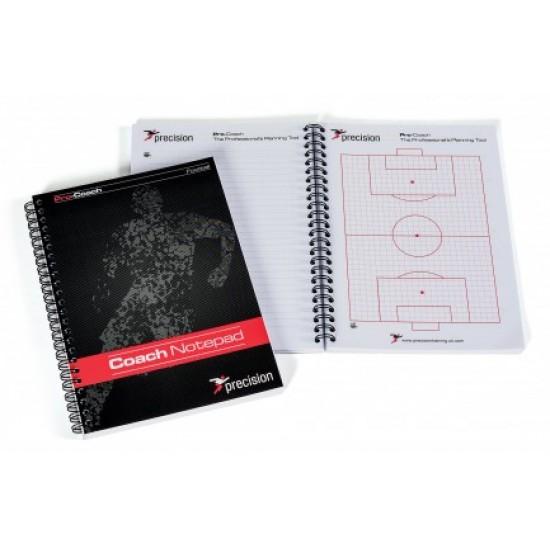 Coach notepad, jalkapallo